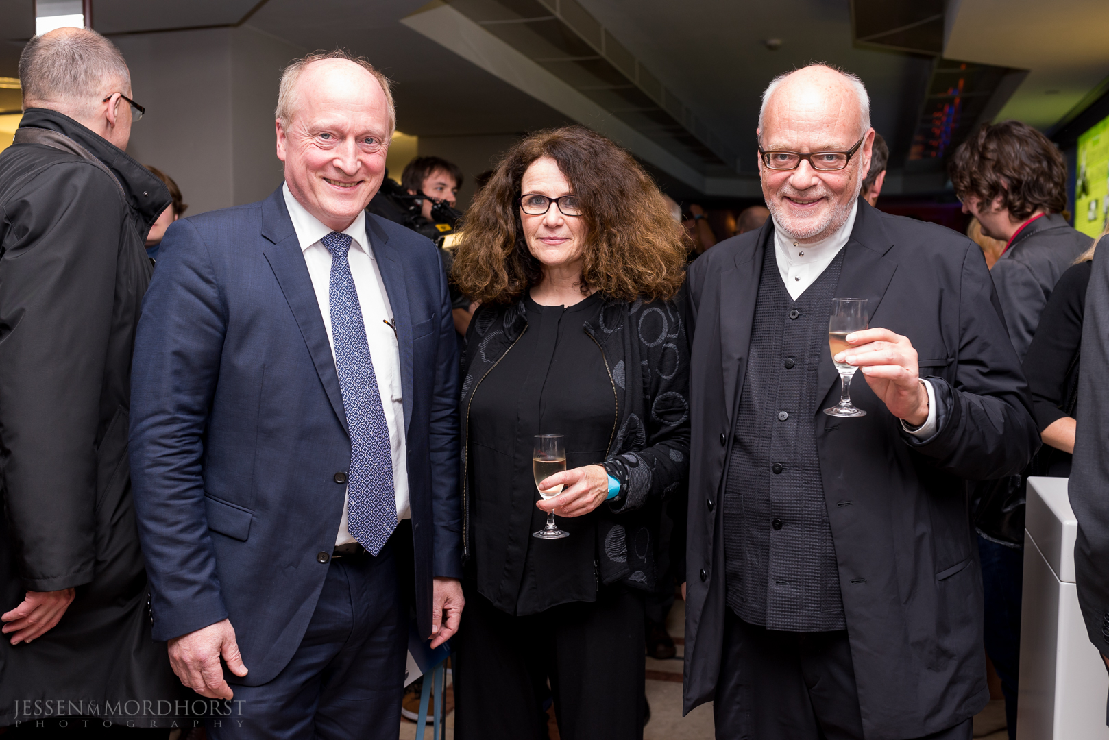 Peter Dinges, Gabriele Brunnenmeyer, Manfred Schmidt