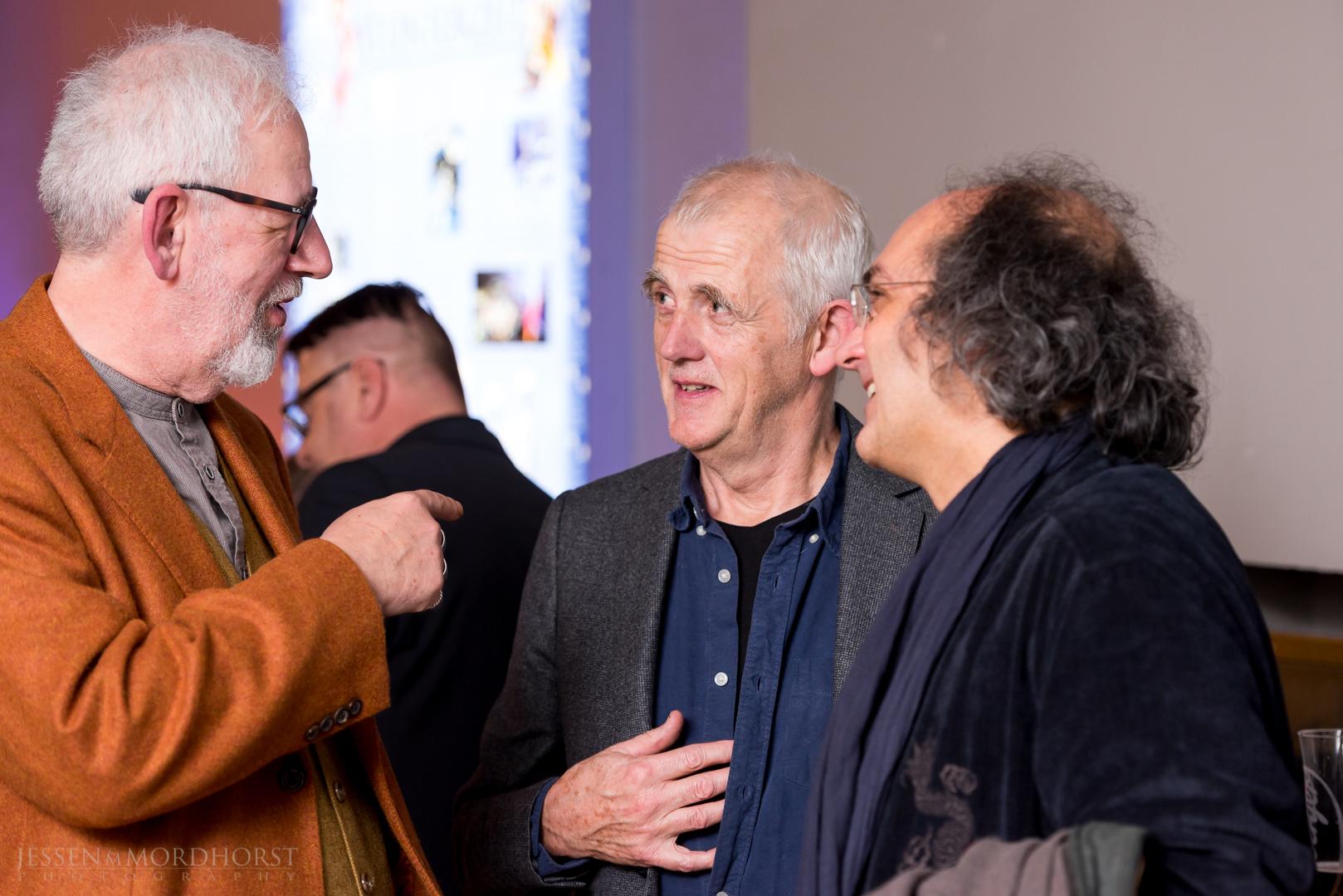 Uwe Golz, Stephen Warbeck (Ehrenpreis Interantional 2016), Bernd Ruf