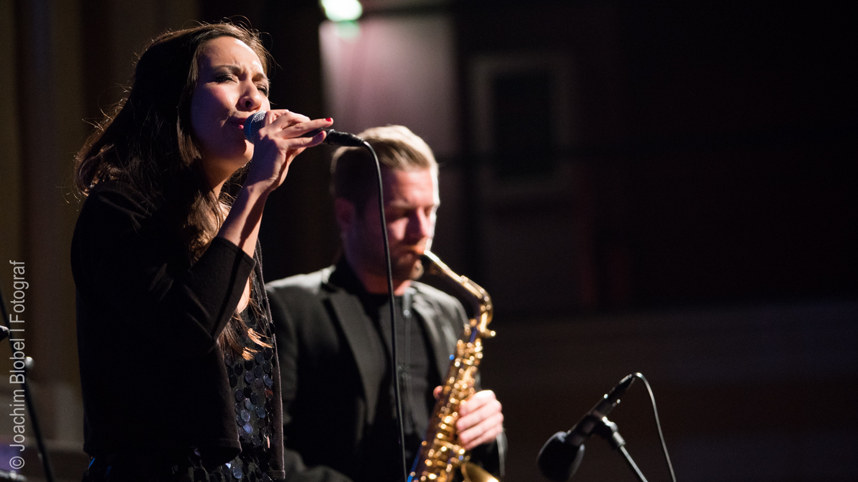 Caroline Adler und David Reichelt, Gewinner d. Kategorie Bester Song