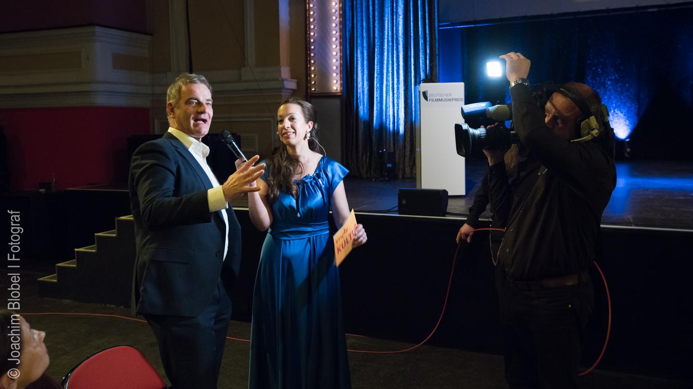 Schauspieler Heinrich Schafmeister und Ellen Schweda