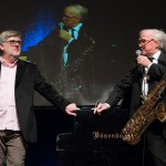 Jean-Michel Bernard und Klaus Doldinger