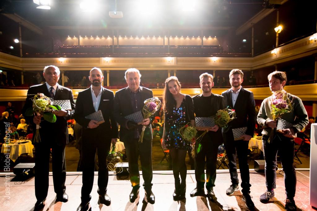 Die Preisträger des DEUTSCHEN FILMMUSIKRPEISES 2017 © Joachim Blobel