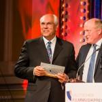Peter Dinges und Trevor Jones Gewinner d. Kategorie Ehrenpreis International