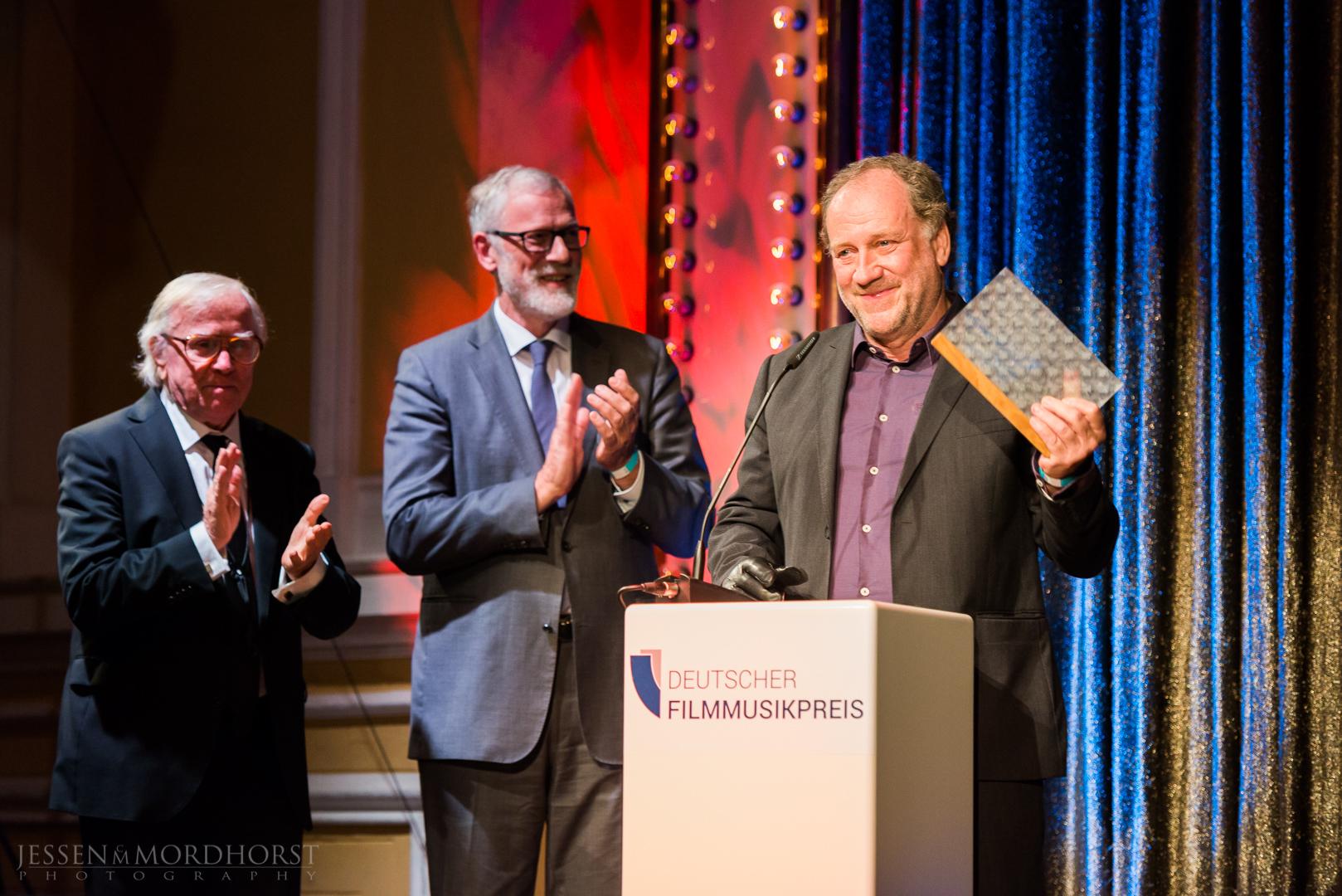 Harold Faltermeyer, Gewinner der Kategorie Ehrenpreis