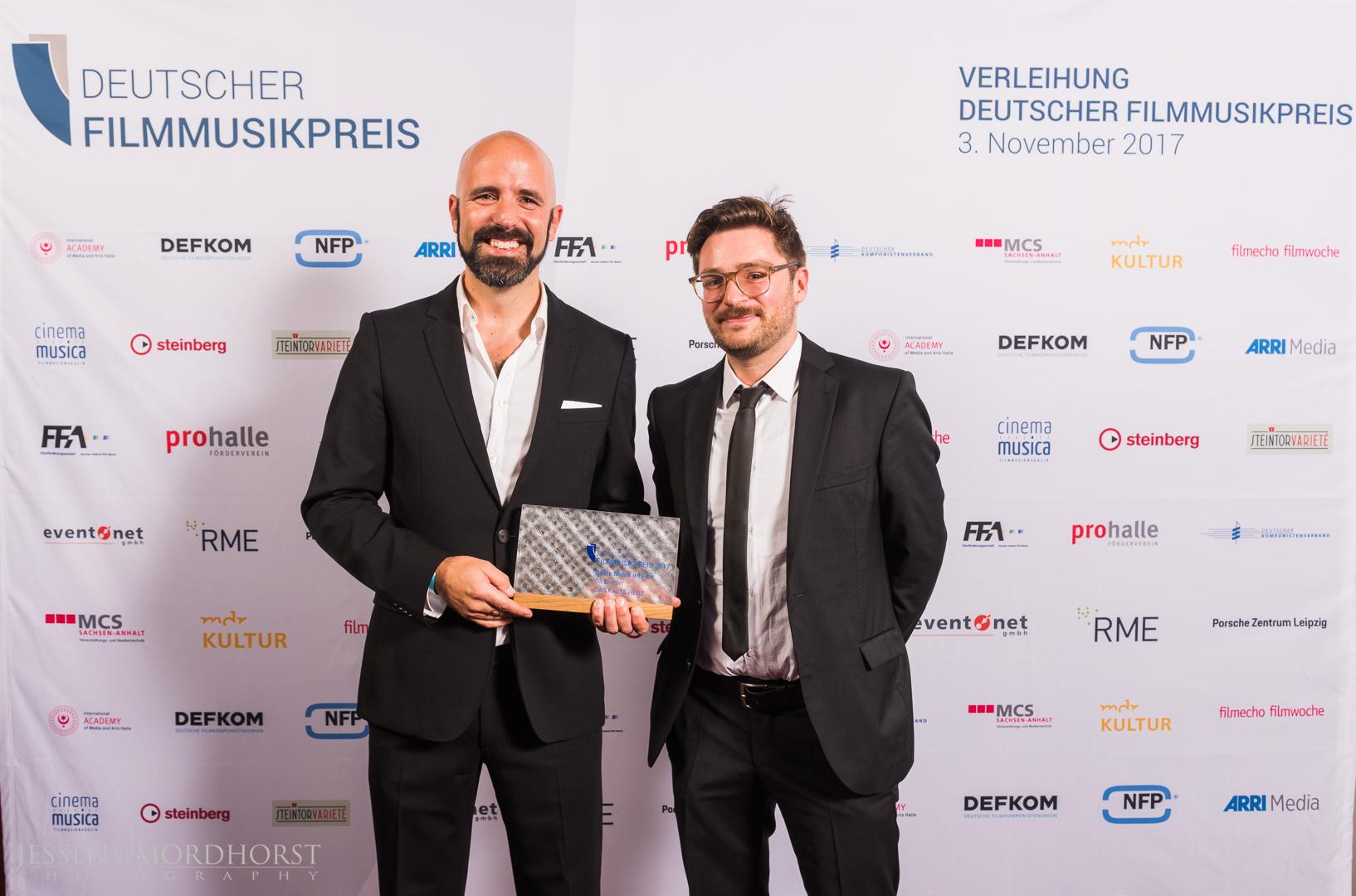 Oli Biehler und Carl Bens, Designer der Preistrophäen